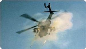 Pasukan Cadangan Teroris Israel Turun, Brigade Al-Qassam Menembak Jatuh Helikopter Tempur Mereka