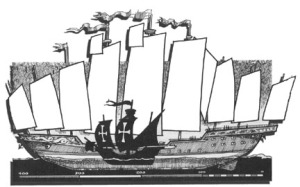 Perbandingan Kapal Chengho & Kapal Colombus